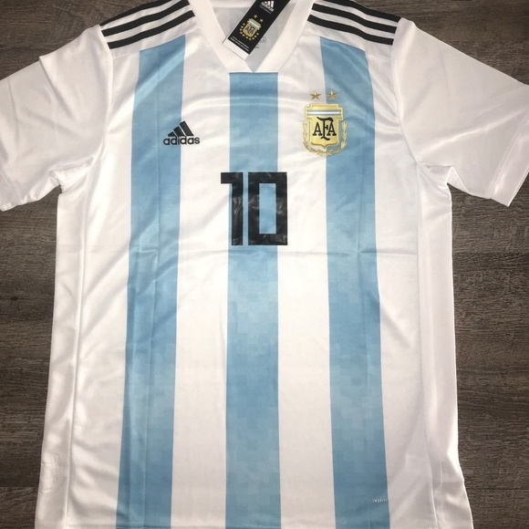 premium selection f8d28 f3be9 Argentina National Team Adidas Lionel Messi Jersey NWT